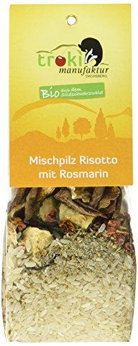 Troki Bio Mischpilz Risotto mit Duftreis, 6er Pack (6 x 175 g)