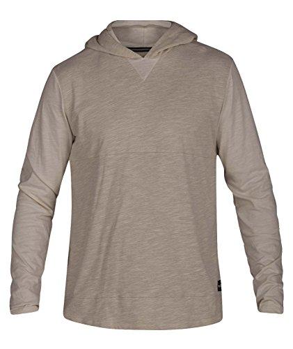 Hurley Men's Di-Fit Lagos Pullover Hoodie, Light Cream, L