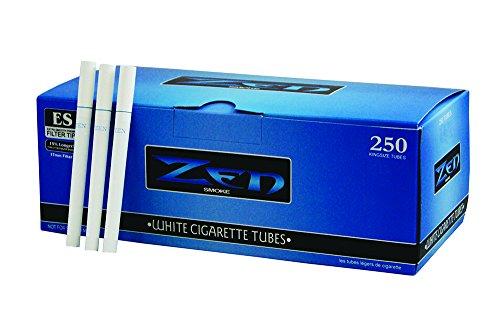 ZEN White Zigarettenhülsen 250er Box 17mm Filter 5 Boxen (1250 Hülsen)