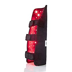 Red Light Therapy Device for Leg & Arm Pain, Near Infrared Therapy Wrap for Calf Thigh Pain Relief Portable Deep Light Therapy with Timer for Muscle Recovery