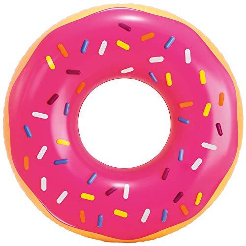 Intex 56256NP - Rueda hinchable INTEX, flotador donut, de fresa, Ø99x25 cm, donut...