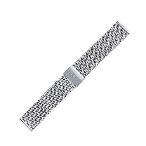 Tommy Hilfiger Uhrenarmband 20 mm Edelstahl Silber - 679001314