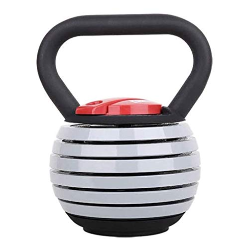 Kettlebell Kugelhantel aus Vinyl Konkurrenzfähige Kettlebell-verstellbare Gewichte mit Griff for Männer Frauen Kettlebell for Krafttraining Übung Home Fitness-Gym-Ausrüstung 40LB Kettlebell/Kugelhant
