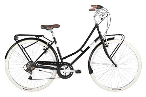 Alpina Bike Viaggio 28', Bicicletta Donna, Nero, 6v