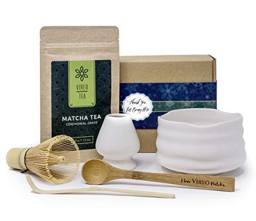 El Té Verde Matcha Set - Vireo 50g polvo de calidad Ceremonial de té con...