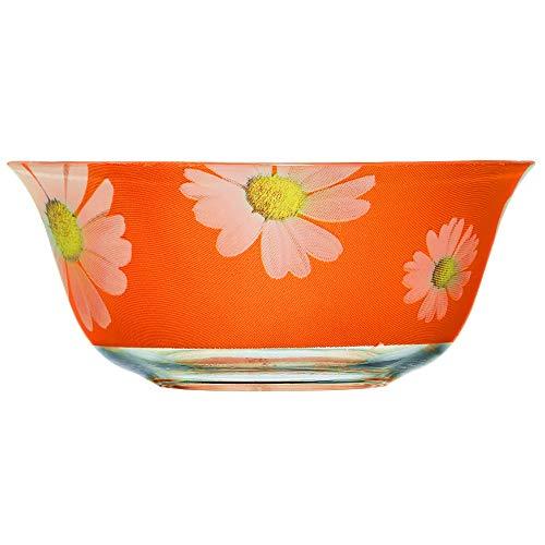 Dajar Ensalada Paquerette 12cm Luminarc, Cristal, Naranja, 12x 12x 5cm