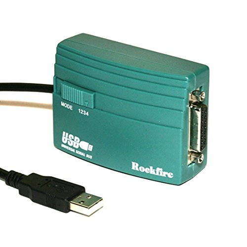 PCCABLES.COM USB Game Port Adapter Rockfire RM-203 gameport