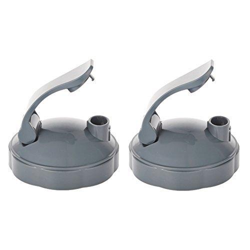 2 Pack FLIP TOP TO CUP LID - FIT ALL 600 & 900 MODEL for NUTRIBULLET CUPS (2 Pack Flip Lid)