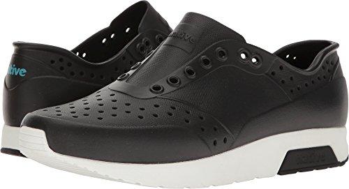 Native Lennox Water Shoe, Jiffy Black/Shell White, 9 Men's M US