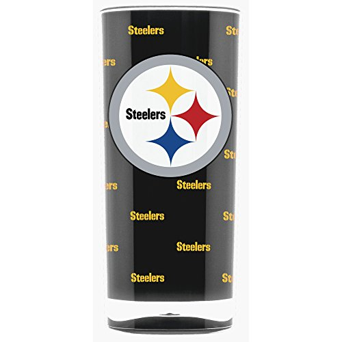 NFL Pittsburgh Steelers 16oz Insulated Acrylic Square Tumbler