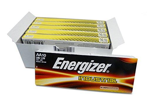 Energizer LR6–LR06–AA Industrial–UM3–Packs von 60