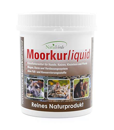 NatuVerde Moorkur Liquid, 500g, für Hunde, Katzen, Nager, Kleintiere und Pferde