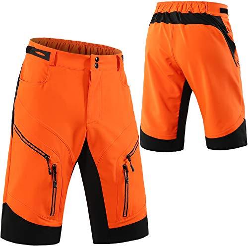 Culotte Ciclismo Hombre,Transpirable Cómodo Pantalones Cortos de Ciclismo,Primavera y Verano Culotes Ciclismo Hombre, para Correr Deportes al Aire Libre Pantalon Corto Montañ(Size:S,Color:azul oscuro)