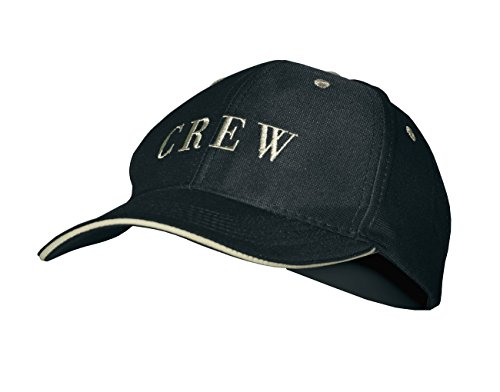 modAS Baseball Cap mit Schriftzug Kappe Schirmmütze Basecap, Aufdruck:Crew