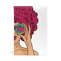 ブックカバー 女 ファッション かわいい 文庫 レザー 耐久性 読書 漫画 文庫判 資料 日記 収納入れ 高級感 耐久性 雑貨 プレゼント 贈り物 本カバー 25x28cm
