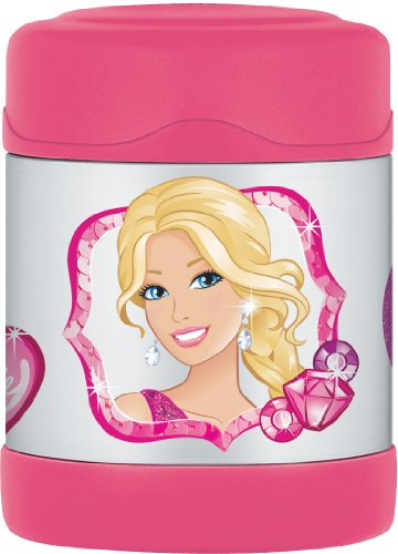 Thermos Funtainer 10 Ounce Food Jar, Barbie