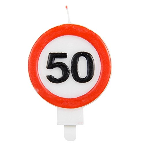 Folat Candles Traffic Sign 50