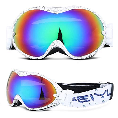 Dtcat Jugend-Skibrille, Skibrille, Zweischicht-Antibeschlagbrille, Mountain Outdoor-Kika-Myopiebrille @ G, Antibeschlag, 100% UV-Schutz