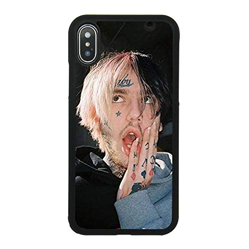 Lil Peep Canvas Art Case Silicone Flexible TPU Lil Peep Theme Phone Case Cover for iPhone Samsung (for iPhone Xs MAX)