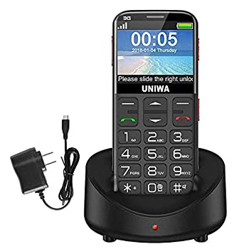 UNIWA Unlocked Senior Cell Phone for The Elderly AT&T 3G Feature Phone for Old People