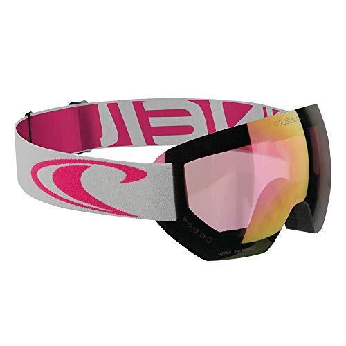 O'Neill Snow Goggles Core | Grau Pink | Ski & Snowboard Brille | Hochwertige Qualität