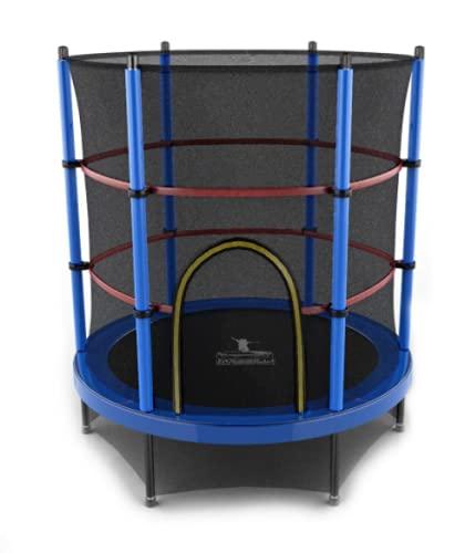Cama Elástica Trampolim Pula - Pula Azul 1,40m 45kg Festas Crianças