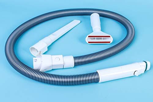 Hochwertiges Schlauchset passend für Vorwerk Kobold 150, Kobold 200, VK150, VK200 Schlauchset bestehend aus: Saugschlauch Fugendüse Polsterdüse