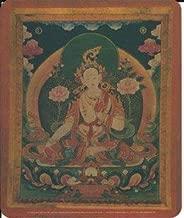 MOUSE PAD, WHITE TARA--GODDESS OF COMPASSION (7-3/4