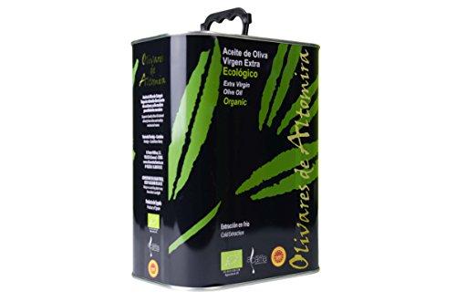 OLIVARES DE ALTOMIRA: extra natives BIO-Olivenöl kaltgepresst,3l, im handlichen Kanister.