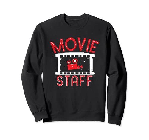 Movie Staff - Movie Night Film Fan - Observador de cine Sudadera