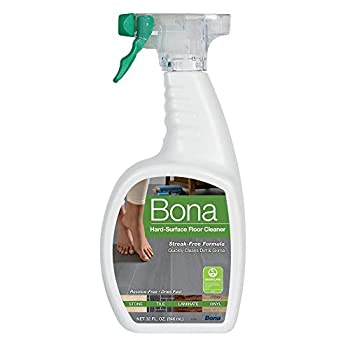 Bona Stone Tile & Laminate Floor Cleaner Spray Formulated for linoleum stone terrazzo vinyl sealed porous marble laminate and no-wax sealed tile  32 oz Dries fast no dulling residue