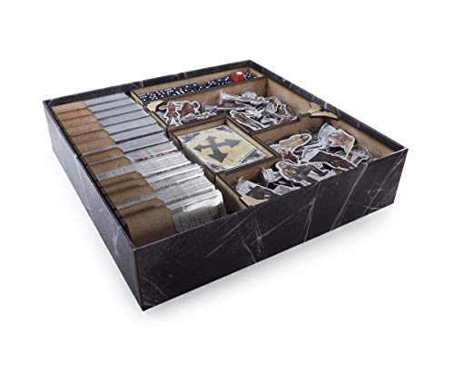 The Game Doctors Boardgame Organizer Compatible with Dead of Winter