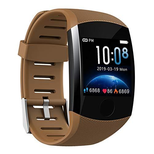 Nobrand QingDaoFuLongGuanHuangMuYeGongSi Bluetooth-Smartwatch, Herren, Q18, mit Kamera, Facebook, WhatsApp, Twitter, Synchronisation, SMS, unterstützt SIM- und TF-Karte für iOS Android, 0, Orange