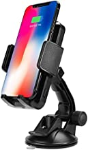 FutureCharger Qi Wireless Phone Charger Wireless Car Charging Suction Mount Cell Phone Holder for X XS XS max XR 8/8Plus Galaxy note9 note8 S9 S9+ S8 S8+ S7 LG G6 and All Qi-Enabled Devices