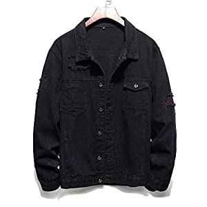Denim Jackets for Men  Classic Ripped Jean Jacket