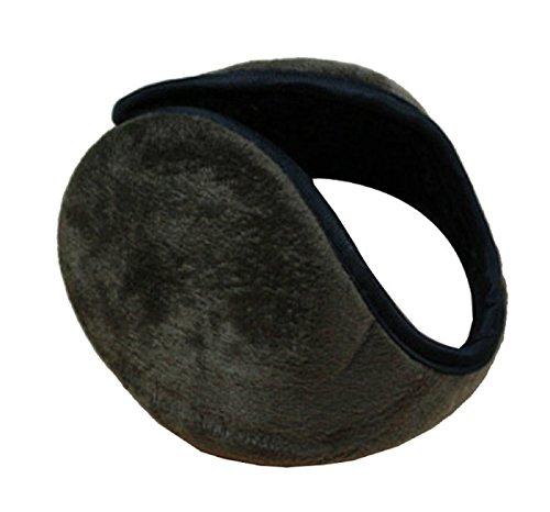 CareforYou® Ohrenschützer für Damen und Herren, Fleece, weich, Schwarz Gr. One size, braun