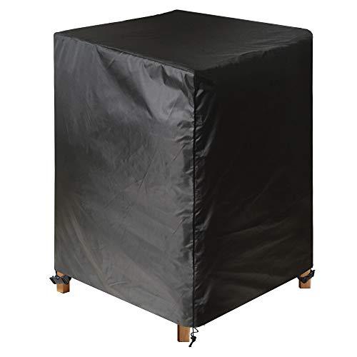 Awnic Schutzhülle für Gartenstühle Stapelstühle Abdeckung Wasserdicht Oxford 68X68X110cm