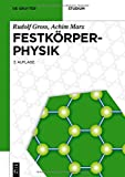 Festkörperphysik (De Gruyter Studium) - Rudolf Gross