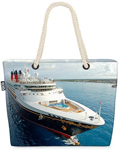 VOID Kreuzfahrt Reise Strandtasche Shopper 58x38x16cm 23L XXL Einkaufstasche Tasche Reisetasche Beach Bag
