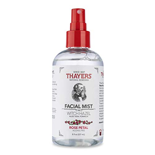 Thayers Alcohol-Free Rose Petal Witch Hazel Facial Mist Toner - 8oz