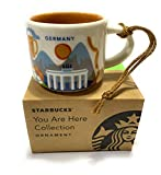 Starbucks Germany Demi Mug Espresso Coffee Cup Tasse NEU in OVP Box Deutschland