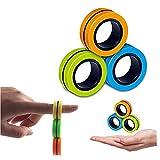 latta enterprise magnetic bracelet ring unzip toy magical ring props tools, stress relief fidget...