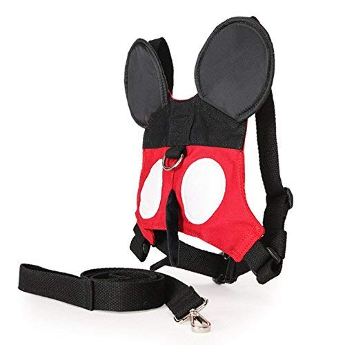 577d1631dad Toddler Anti-lost Walking Safety Harness with Leash Cute Baby Strap Backpack  for 1-