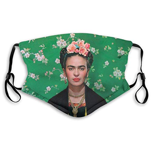 Nicegift Luremol Frida Kahlo Poster Fashion Protect Cover BandaBalaclavas Anti-dust Mouth Cover Face M-as-k For Reusable Cover