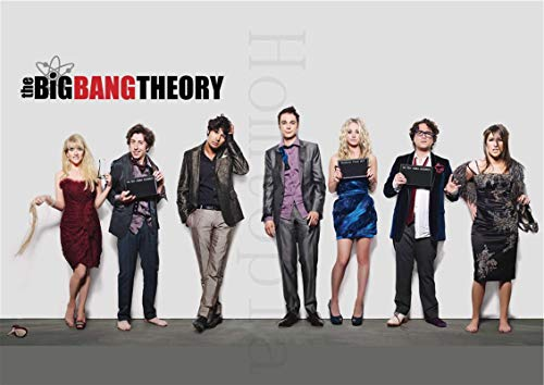 linbindeshoop The Big Bang Theory Poster Movie Wall Stickers Paper Prints High Definition Clear Picture Home Decoration (LW-1098) 40x60cm No frame