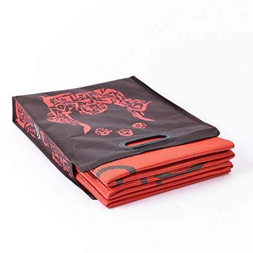 Natural Fitness ROAM 182,9 cm Faltbare Yogamatte mit Rutschfester Traktion und Tragetasche zum Schutz und Aufbewahren kompakt
