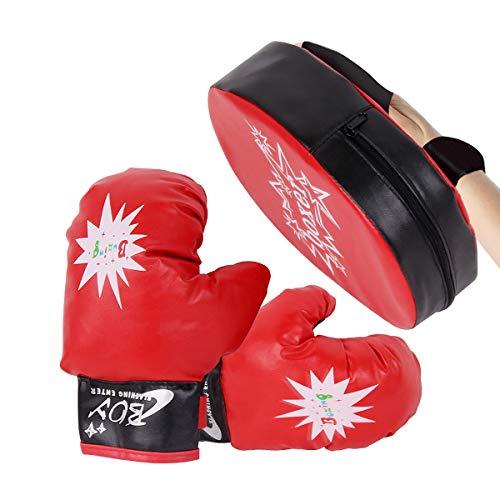 Limón Juego de Guantes de Boxeo Infantil – Ideales para Kickboxing, Training, Grappling, Sparring,…