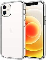 JETech Case for iPhone 12 mini 5.4-Inch, Shockproof Bumper Cover, Anti-Scratch Clear Back, HD Clear