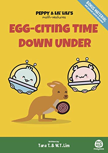 Peppy and Lil' Lili's Math-Ventures Egg-citing Time Down Under (Australia Chapter of The Series ): Math Puzzle Stories for Preschoolers and Lower Elementary Kids (English Edition)