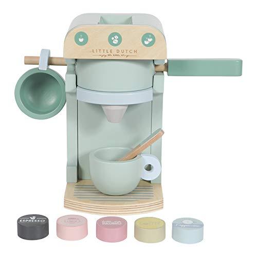 Little Dutch 4460 Holz Kaffeemaschine Set...